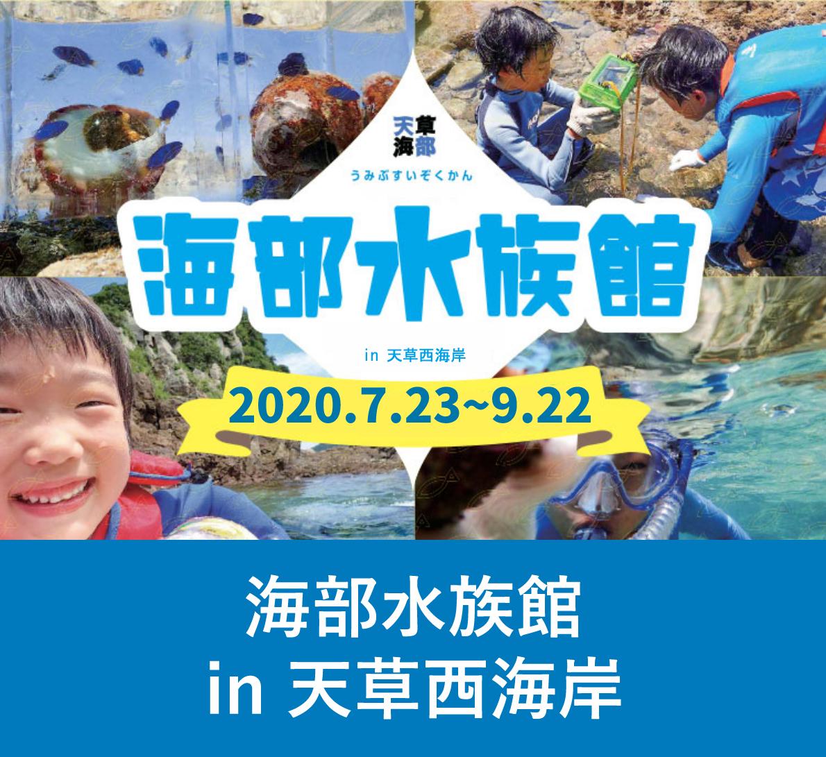 海部水族館in 天草西海岸